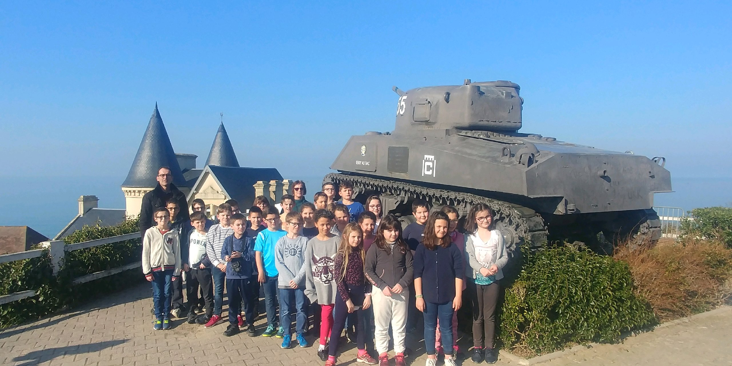 Port d'Arromanches (27/02/19)