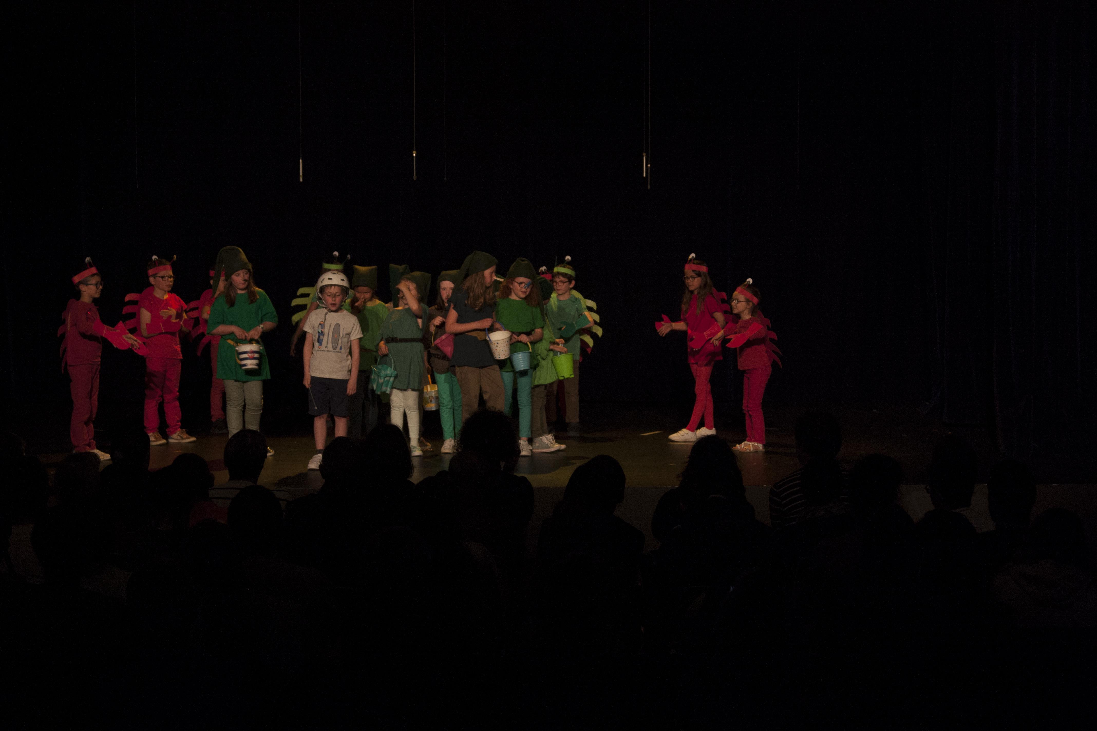Théâtre avec les CP, Ce1 et Ce2