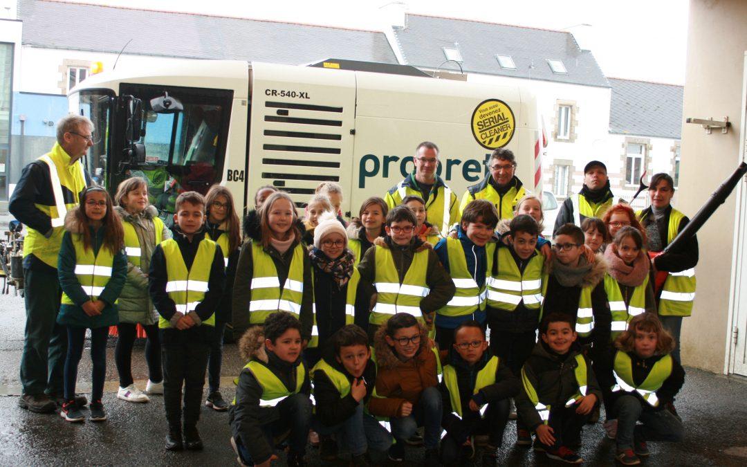 PROJET SERIAL CLEANER 2020 AVEC LE SERVICE PROPRETE DE BREST METROPOLE